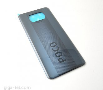 Xiaomi Poco X3 battery cover gray