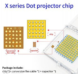 Set 3ks IC chips for repair dot projectors ( 118671 + 118672) - top quality!