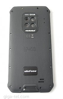 Ulefone Armor 9 battery cover with NFC antenna / without camera lens