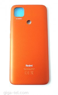Xiaomi Redmi 9C battery cover orange