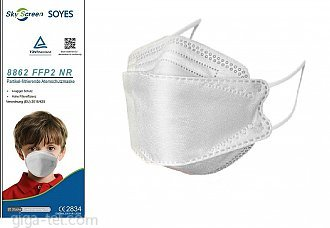 Respirator FFP2 SkyScreen for Kids / CE 2834